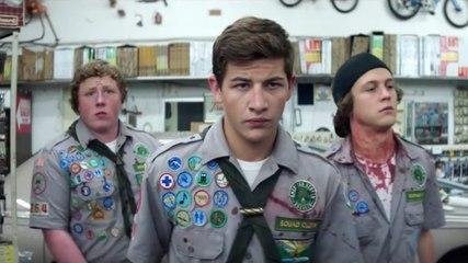 Como Sobreviver A Um Ataque Zumbi (Scouts Guide to the Zombie Apocalypse, 2015) - Trailer Dublado - [HD]