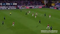 Brugge big chance | Club Brugge v. Manchester United - UCL 15-16 Play-offs 26.08.2015 HD