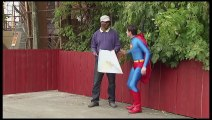 Just For Laughs Gags 25 August 2015 Flying Superman Prank!