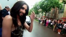 _In der Limo mit ..._- Conchita Wurst - 2014 - Thanks to inbal and The first Israel fan club of Conchita Wurst 2014 for finding the video