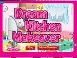 Equips the kitchen! Developing game for girls! Children's cartoon!