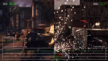 Gears of War Ultimate Edition Xbox One vs Xbox 360 Gameplay Frame-Rate Test