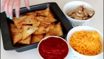 How To Make Nachos With Homemade Tortilla Chips - By One Kitchen Episode 232