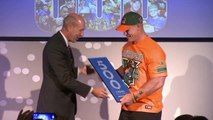 Soft Hearted John Cena Honored By 'Make A Wish Foundation
