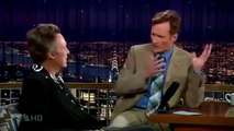 Late Night with Conan OBrien Christopher Walken interview!