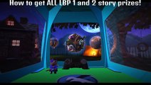 LittleBigPlanet 3 - How to get ALL LBP 1 and 2 story items! (Costumes,Stickers,Objects)