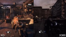 Gears of War Ultimate Edition Xbox One vs Xbox 360 Graphics ComparisonAnalysis
