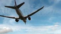 Qatar Cargo 777-200 Overhead landing @ Amsterdam Airport Schiphol