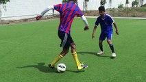 Learn Amazing Football Skills(Ronaldo / Neymar / Messi Skills) - FYK SOCCER SKILLS