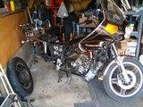 1980 Honda CB900 Custom- Candy Ruse Red - Rebuild
