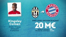 Officiel : Kingsley Coman s'envole pour le Bayern Munich !