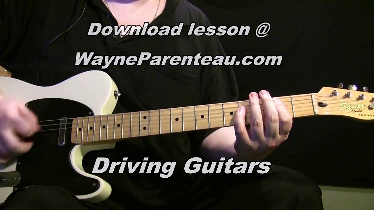 Driving Guitars – Guitar Lesson