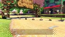 cuatro jugadores cuatro bocinas Wii U - Mario Kart 8 - Animal Crossing