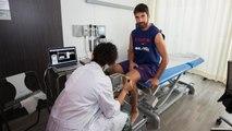 Inici amb revisions mèdiques al Barça Lassa de bàsquet / Inicio con revisiones médicas en el Barça Lassa de baloncesto