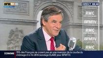 François Fillon invité de Jean-Jacques Bourdin sur BFM TV / RMC