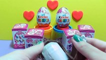 Kinder Surprise Mickey Mouse, Barbie, My Little Pony (Kinder Chocolate Surprise Eggs)