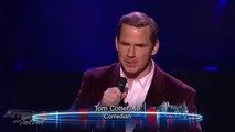Witty Comedian Tom Cotter America's Got Talent Season 7 Las Vegas Performance