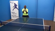 Backhand Topspin Against Backspin   Table Tennis   PingSkills | table tennis tricks