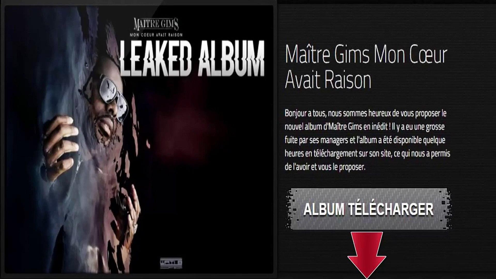 Maitre Gims Mon Coeur Avait Raison Album Complet Gratuit Free