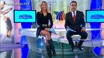 Ines Sainz Beautiful Mexican Tv Presenter 21.01.2013