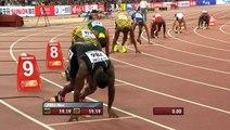 Usain Bolt gagne le 200m aux Championnats du Monde de Pékin