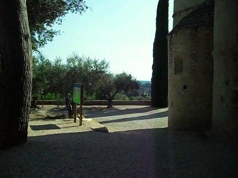 Chapelle romane de Notre Dame d'Aubune et son jardin médiéval