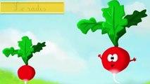 Apprendre les légumes en s'amusant francais