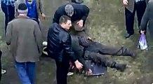 Kamaz a volé depuis le pont près de Chisinau