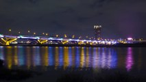 01031 P04-12  台北忠孝橋夕采 Taipei's Chunghsiao Bridge Sunset & Night Fall+TA.wmv