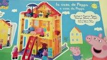 Peppa Pig Casa de Bloques de Construcciones   Mega House Construction Set