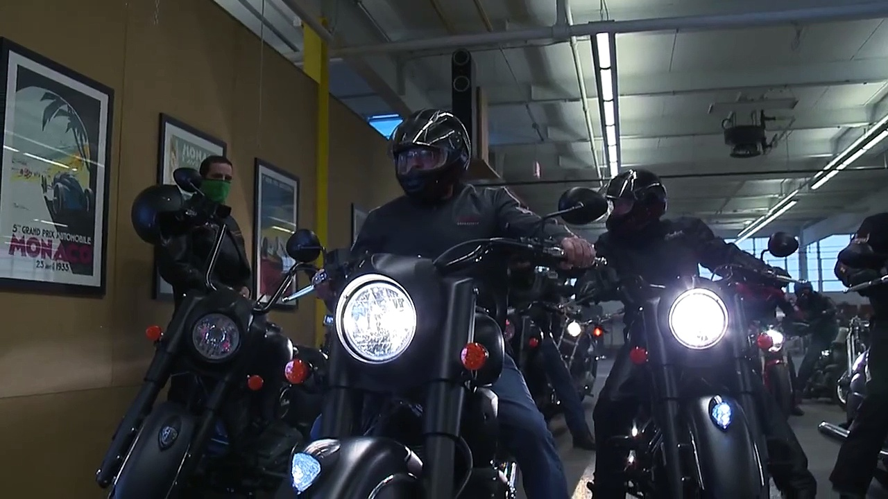 2016 Indian Chief Dark Horse Launch – Indian Motorcycle
