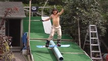 It's Summer. There's No Snow - But There's Still Snowboarding...