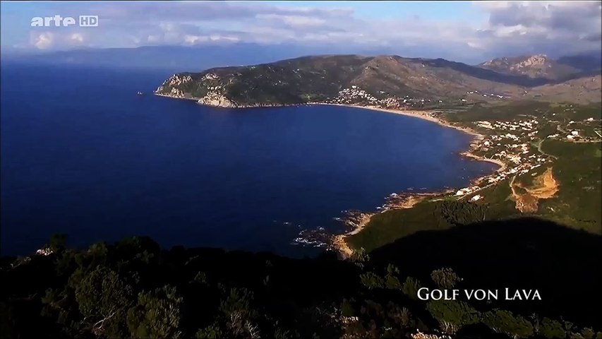 Golfe de Lava - Vue du ciel - Corse