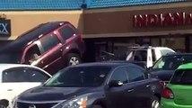 Automobiliste veut décrocher sa voiture du camion de la fourrière