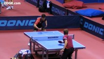 Table Tennis Tomahawk Serve by William Henzell | table tennis tricks