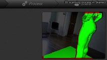 Turbo-charging Kinect 3D scans with Blender