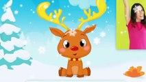 Comptinette du renne de Noël   comptine à gestes