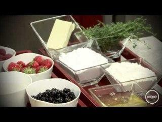Le coulis de fruits rouges - Jean-Luc Rabanel