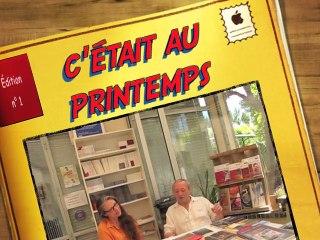 Fin des travaux de la librairie Elan Sud, 233 rue de Rome à Orange [BD]