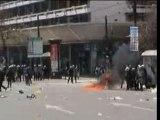 Molotovs dans Athènes