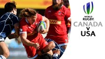 Canada 23-41 USA! Rugby World Cup warm-up highlights