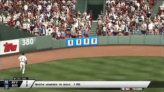 New York Yankees @ Boston Red Red Sox MLB 11 THE SHOW Highlights