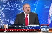Nadeem Malik Shows Justice (R) Kazim Malik Letter to Pervez Rasheed in Reply to His Threats