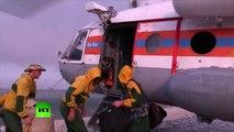 Les pompiers continuent à combattre les incendies autour du lac Baïkal