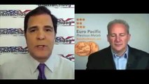 Peter Schiff 2013 Interview Gold and Silver Price, Japanese Yen, U S Dollar Prediction