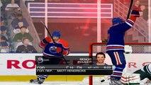 Edmonton Oilers vs Minnesota Wild (Best Moments) NHL 09