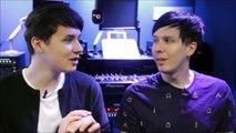 dan and phil / phan / twenty one pilots / cant help falling in love (cover)