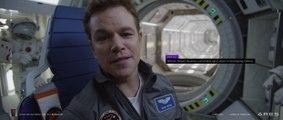 THE MARTIAN - Ares 3 Farewell Featurette - Matt Damon Mars Movie 2015