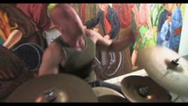 """""""Stickless Drumming Underneath Times Square!"""" A Video Portrait of: Shakerleg (Musician)"""