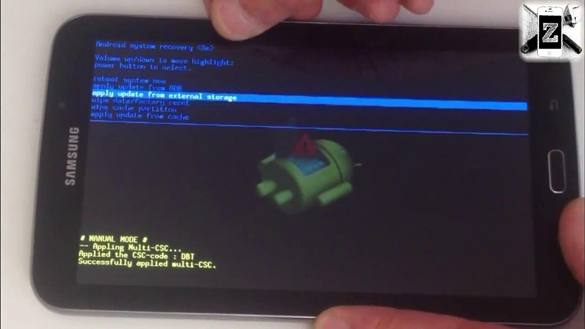 Samsung GALAXY Tab 3 7 0 - Screen Lock, Unlock Password, Factory Reset,  Hard Reset - Easy unlocking